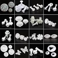 Fondant Cake Plunger Cooky Cutter Mold Sugarcraft Decorating Paste Mould Tool HH