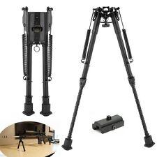 "9"" To 13"" Adjustable Spring Return Sniper Hunting Rifle Bipod Sling Swivel Mount"