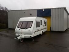 2001 ELDDIS 4 / 5 BERTH FAMILY TOURING CARAVAN END FIXED BED AWNING DELIVERY
