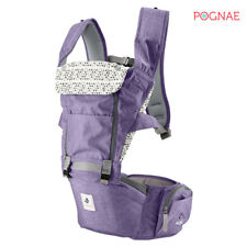 [POGNAE] All New NO5 hip seat baby carrier-purple