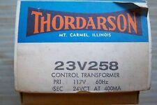 Thordarson control transformer 23V258