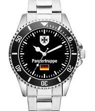Soldat Geschenk Bundeswehr Artikel Panzertruppe Uhr 1031