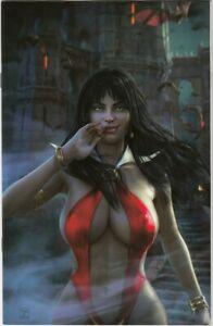 Vampirella Dark Powers #1 NM- Tiago Da Silva Cover Sad Lemon Ltd 500 Copies