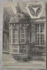 """CPA """" LUXEUIL LES BAINS - La Tourelle de l'Hôtel du Cardinal Jouffroy"""