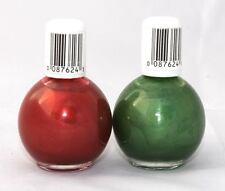 Blue Cross Beauty SMALTO 2 Tonalità Candy Cane (Rosso) Pine (verde) HALLOWEEN