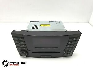MERCEDES BENZ CLS320 W219 STEREO CD PLAYER TELEPHONE CONTROL HEAD UNIT 2005