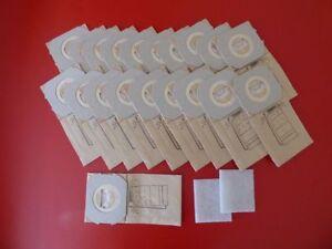 30 Staubbeutel für Omega Contur 701 702 900 1000 1400 ..