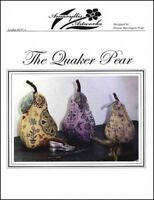 The Quaker Pear Amaryllis Artworks Cross Stitch Pattern