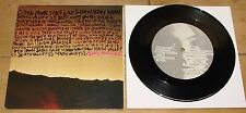 """SONIC YOUTH & LYDIA LUNCH ~ DEATH VALLEY b/w BRAVE MEN RUN ~ IRIDESCENCE 7"""" 1984"""