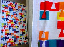 "ALEXANDER GIRARD ""RAIN"" Vintage Herman Miller Fabrics Textile Art Eames era RARE"