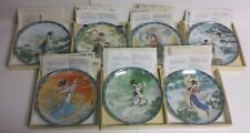 7x Imperial Jingdezhen LEGENDS OF WESTLAKE Plates Boxes COA Papers - Free Ship!