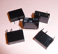 4x Relais 12V 25A 250V 277VAC PCB Universal Last Lampen Motor Kompressor usw.