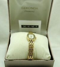 Sekonda Gold Plated Case Oval Wristwatches