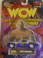 New Racing Champions WCW Nitro Streetrods Goldberg Ford Mustang Shelby