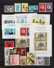 Korea - 1979-80 - Mint, NH stamps, souvenir sheets - cat.. $ 31.15