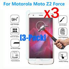 [3-Pack] Gorilla Glass Screen Protector Film For Motorola Moto Z2 Force Edition