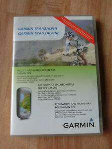 Garmin Transalpin Freizeit und Wanderkarte für Garmin GPS