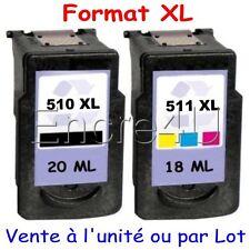 Cartouches d'encre compatibles avec imprimante Canon MP495 ( PG510 XL CL511 XL )