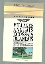 Anthony COHEN  Villages Anglais, Ecossais, Irlandais TBE 1993