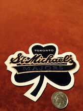 St. Michael's Toronto Majors Stitched Shoulder Hockey Crest Patch 5.2 X 4.5 inch