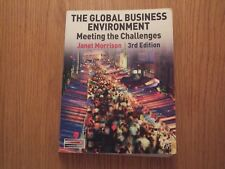 The Global Business Environment - Meeting the Challenges 3rd Ed by J MORRISON