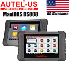 "Autel MaxiDAS DS808 Pro Auto Diagnostic Tool OBD2 Fault Code Reader Scanner 7"""