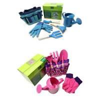 6pcs Garden Tool Set Shovel Gloves Kettle Set for Kids Outdoor Garden Yard Toys