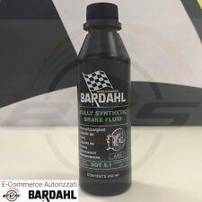 Bardahl DOT 5.1 Olio Fluido Freni 100%25 Sintetic Racing ad alte Prestazioni 250ml