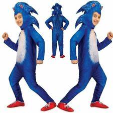 Kids Boys Sonic The Hedgehog Costume Jumpsuit Cosplay Performance Fancy Dress