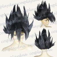 Goku Saiyan Black Cosplay Wigs Anime Dragon Ball Wigs (fit adult and kids) A4