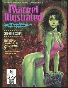 Marvel Illustrated Swimsuit Issue - She-Hulk cover NM- Cond.