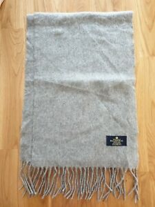 THE HOUSE OF BALMORAL Grey 100% Cashmere Scarf