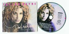 Taylor Dayne cd-maxi DON'T RUSH ME © 1987 picture disc 4-Track # 661 687