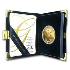 2007-W 1 oz Proof Gold American Eagle (w/Box & COA) - SKU # 26563