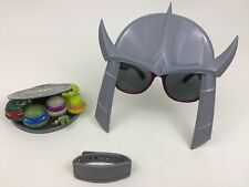 Teenage Mutant Ninja Turtles Lot TMNT (3) Toy Shredder Accessories Costume A4