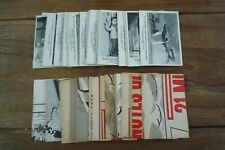 Thunderbirds Somportex B&W Cards - Large Version -1966 VGC - Pick Cards You Need