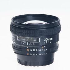 Nikon Nikkor AF 20mm F2.8 D Wide Angle Autofocus Prime Lens 1913