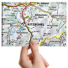 "Photograph 6x4""  - Kitzbuhel Austria Town Europe Travel Map  #45478"