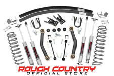 """Rough Country® - 623N2 - 4.5"""" Lift Kit for Jeep 84-01 Cherokee XJ 4WD"""