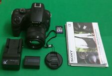 Sony Alpha a3000 20.1MP Digital Camera - Black with E OSS 3.5-5.6/18-55mm Lens