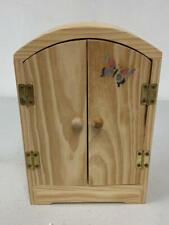 "Wood Wardrobe made for Madame Alexander Luncheon 8/"" Dolls RARE"