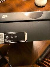 Nike Kobe Men's Basketball Shoe IX 9 High EXT QS Size 10 Snakeskin 716616-001