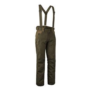 Deerhunter Deer Trousers with Braces Waterproof Hunting Shooting