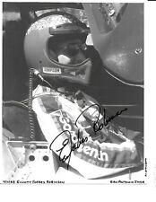Autographed Elliott Forbes Robinson IMSA  Auto Racing Photograph