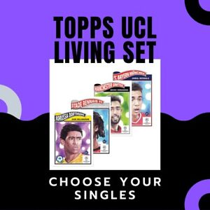 TOPPS UCL UEL SOCCER LIVING SET 2020/21 CHOOSE YOUR CARDS