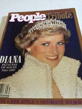 People Magazine Tribute to Diana Princess of Wales Fall 1997