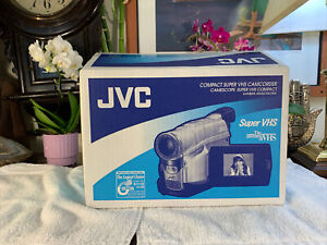 JVC GR-SXM37u Super VHS Camcorder BRAND NEW Factory Sealed RARE DeadStock WOW
