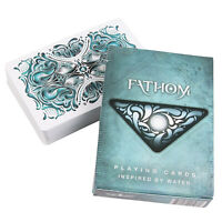 Ellusionist FATHOM playing cards Water USPCC Poker size Magic tricks 1 Deck USA