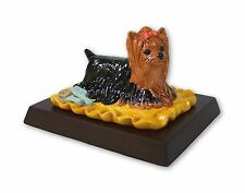 Royal Doulton - Boxed 'Yorkshire Terrier' Rda68 - Includes Wooden Plinth.