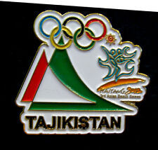 2012 Olympic TAJIKISTAN NOC large Internal team - delegation  pin